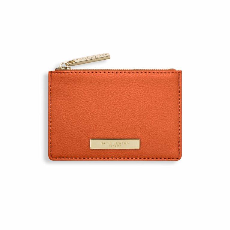 Alise Card Holder | Burnt Orange