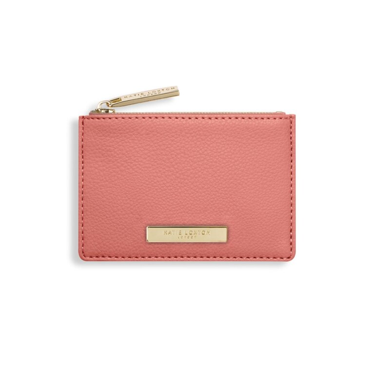 Alise Card Holder | Salmon Pink