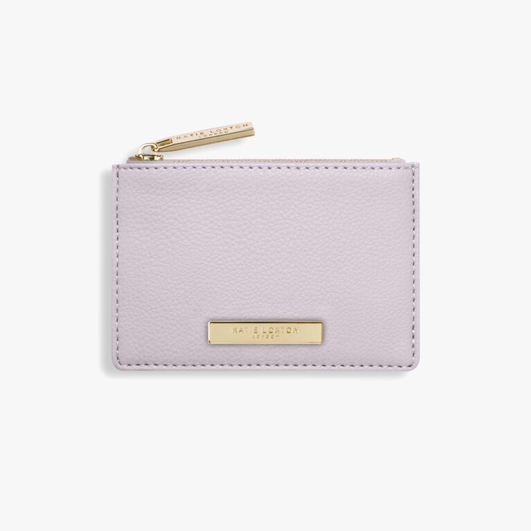 Alise Card Holder In Lilac