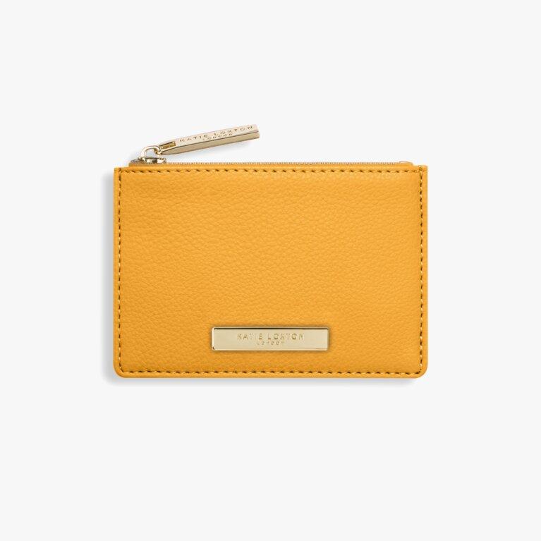 Alise Card Holder | Ochre