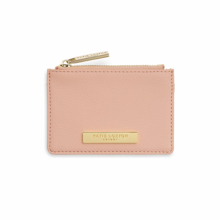 Card Holder Coin Purse | Pale Pink