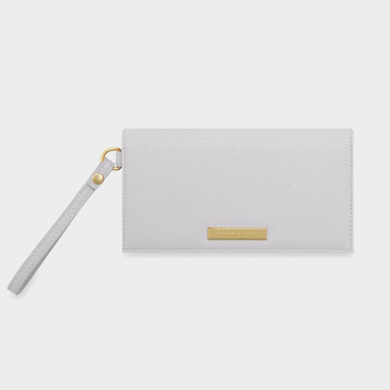 Cleo Wristlet | Pale Grey