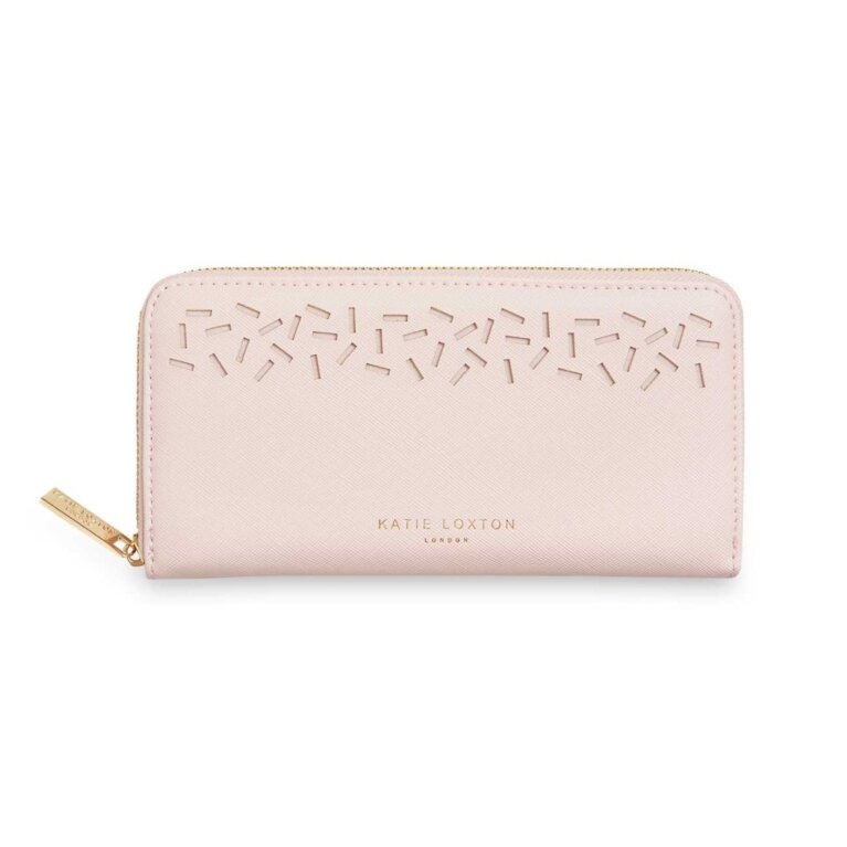 Laser Cut Purse | Nude Pink