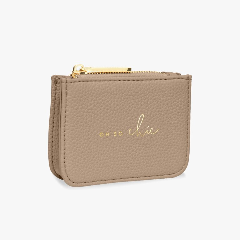 Stylish Structured Coin Purse | Oh So Chic