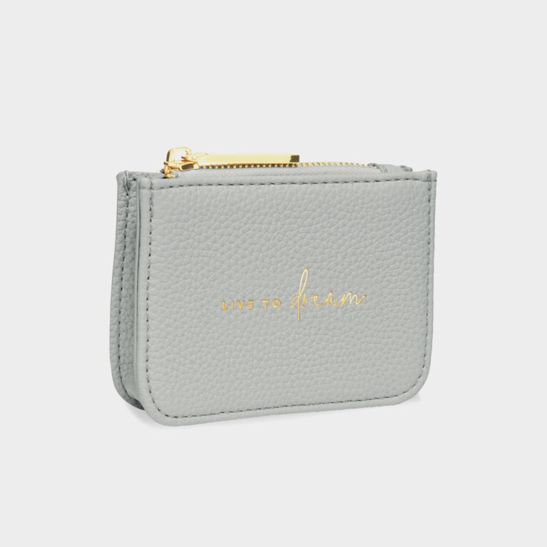 Stylish Structured Coin Purse | Live To Dream