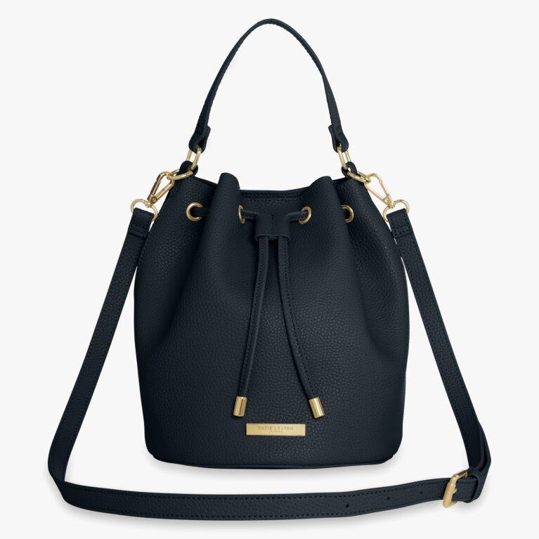 Chloe Bucket Bag | Navy