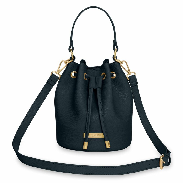 Chloe Mini Bucket Bag | Navy