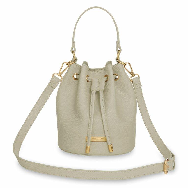 Chloe Mini Bucket Bag | Warm Grey