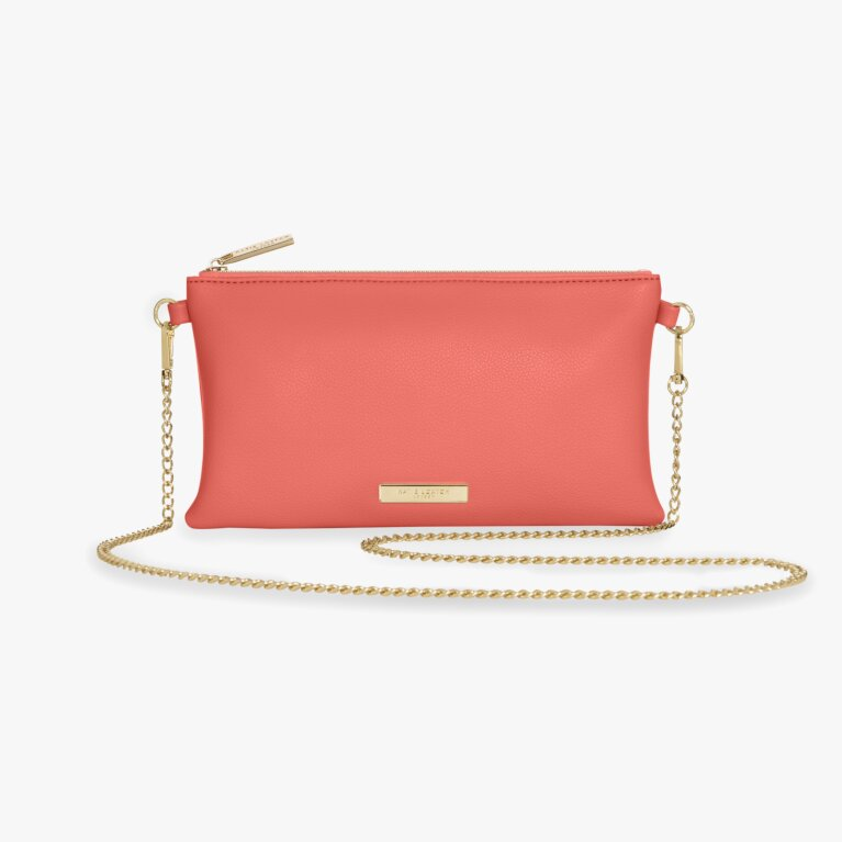Freya Cross Body Bag | Coral