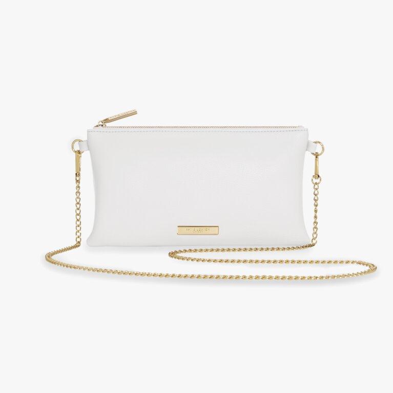 Freya Cross Body Bag | White
