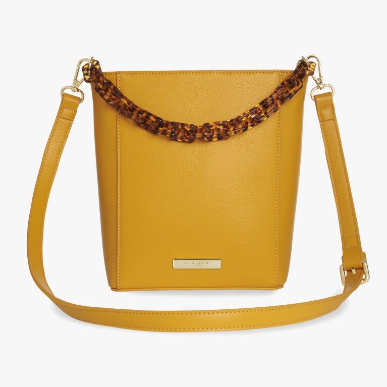Ayla Tortoiseshell Bag   Ochre