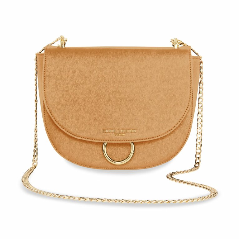 Lucia Saddle Bag | Taupe