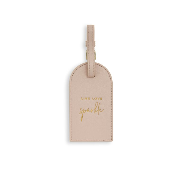 Luggage Tag Live Love Sparkle