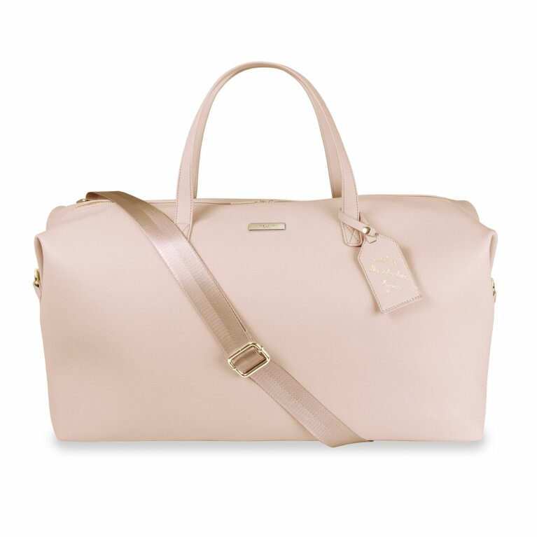 Weekend Holdall Duffle Bag | Pale Pink