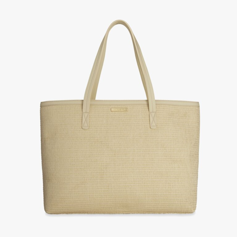 Callie Large Tote Beach Bag | Natural