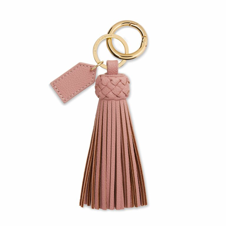 Cara Tassel Keyring | Pink