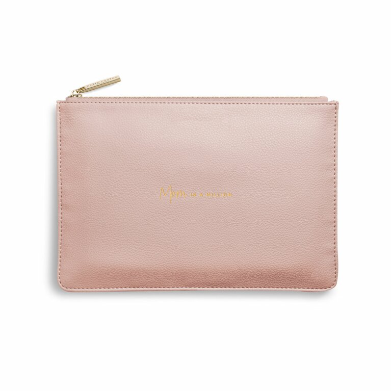 Perfect Pouch | Mom In A Million | Pale Pink