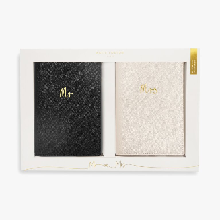 Bridal Passport Cover Gift Set | Mr And Mrs