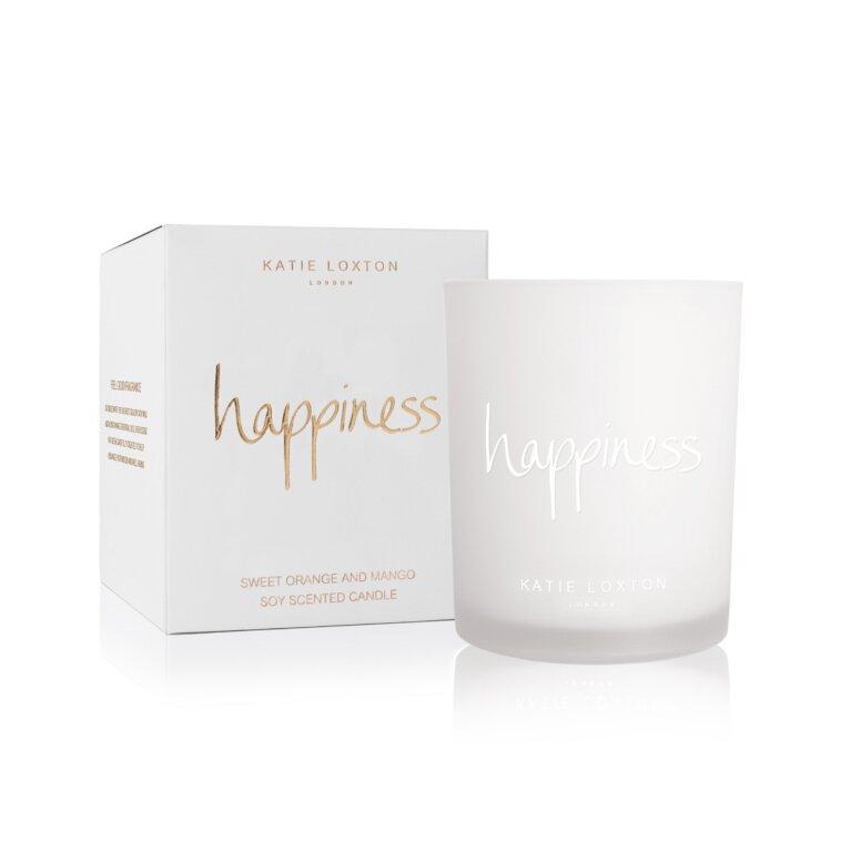 Happiness Candle | Sweet Orange And Mango