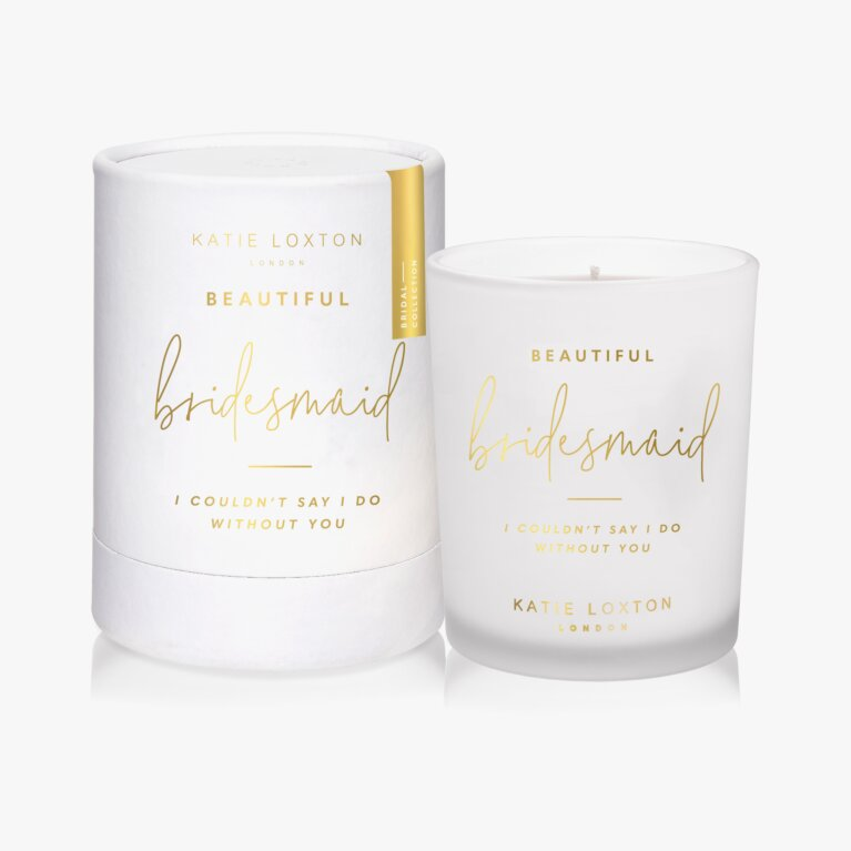 Sentiment Candle | Beautiful Bridesmaid