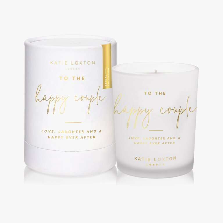 Sentiment Candle | To The Happy Couple