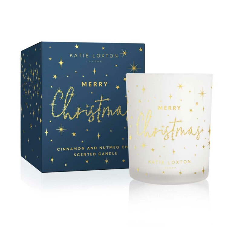 Festive Candle | Merry Christmas | Cinnamon and Nutmeg Chai