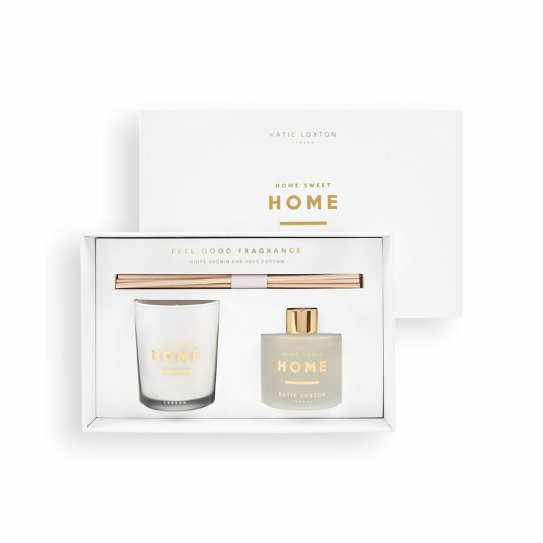 Sentiment Mini Fragrance Set | Home Sweet Home | White Orchid and Soft Cotton