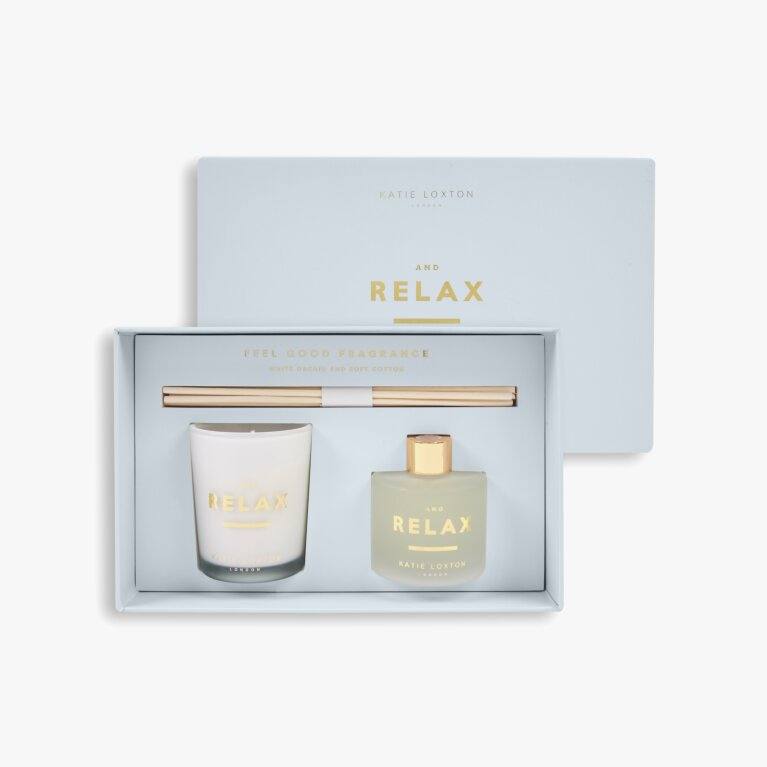 Sentiment Mini Fragrance Set And Relax White Orchid And Soft Cotton