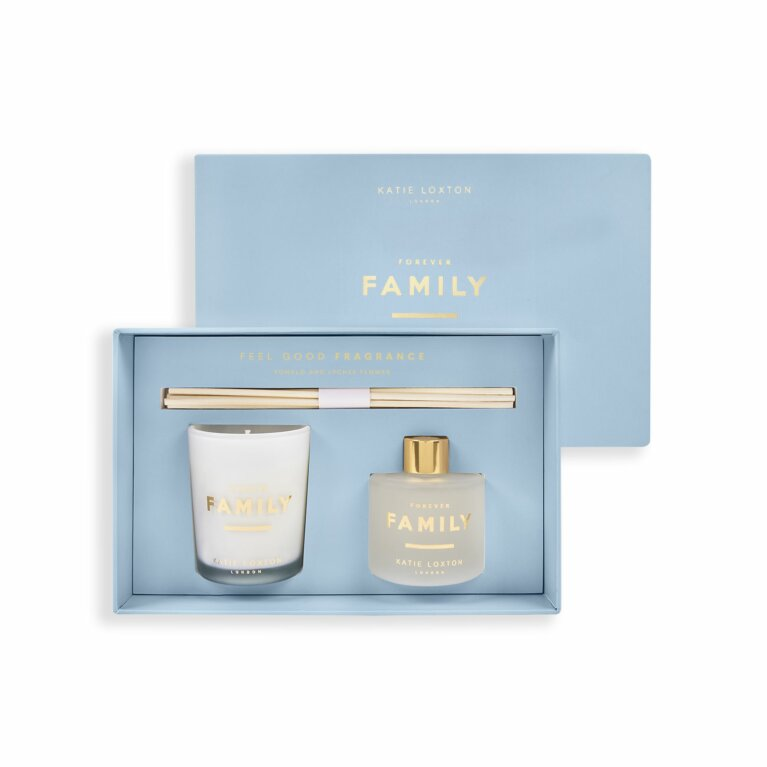 Sentiment Mini Fragrance Set | Forever Family | Pomelo and Lychee Flower