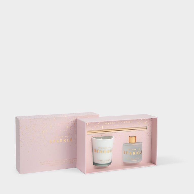Sentiment Mini Fragrance Set Season To Sparkle Sweet Vanilla and Salted Caramel