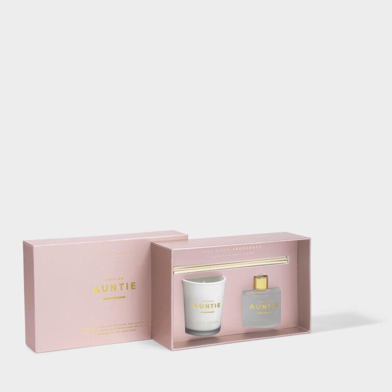 Sentiment Mini Fragrance Set Amazing Auntie Grapefruit and Pink Peony