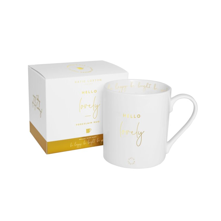 Ceramic Mug Hello Lovely