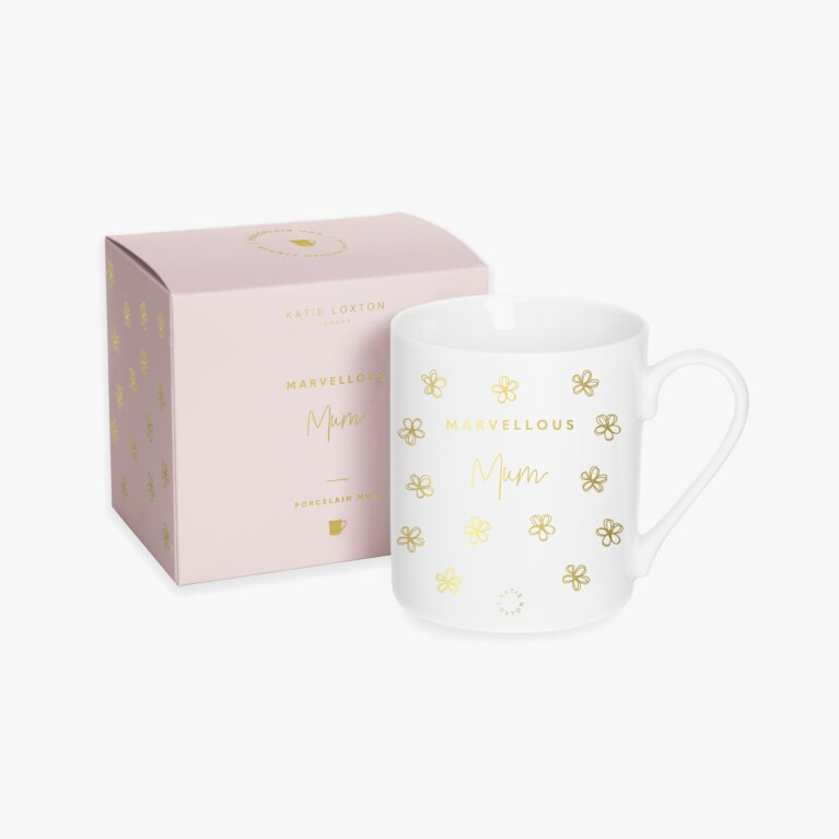 Porcelain Mug | Marvellous Mum