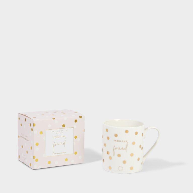 Boxed Porcelain Mug Fabulous Friend