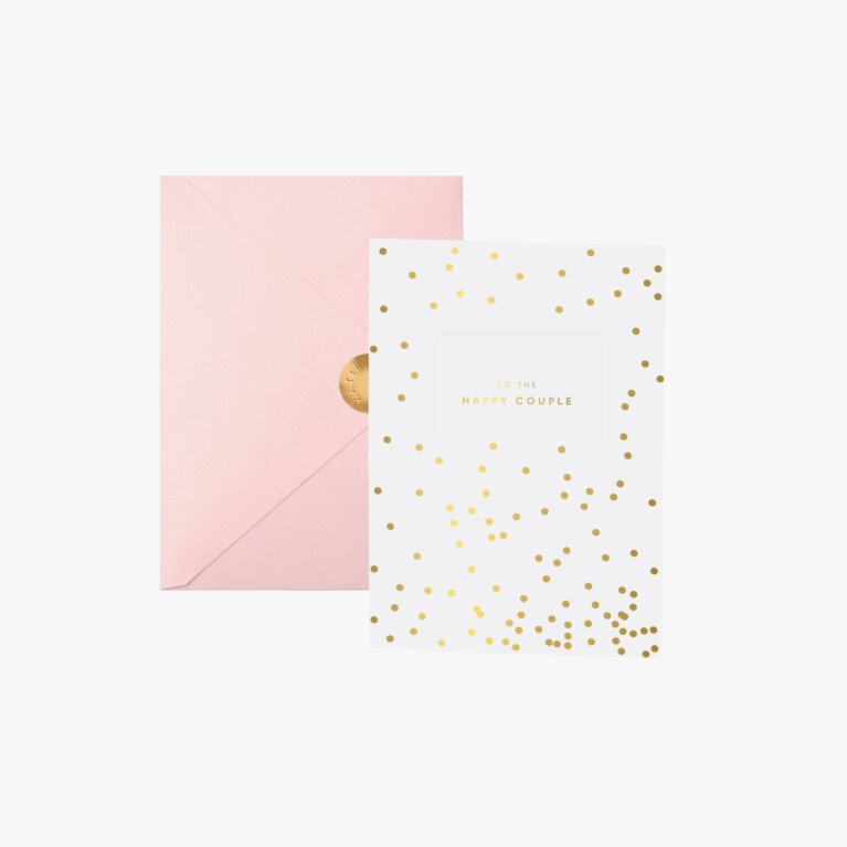 Bridal Greeting Card To The Happy Couple