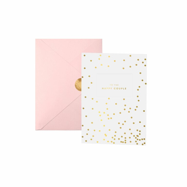 Bridal Greeting Card | To The Happy Couple
