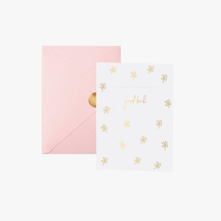 Greeting Card Good Luck
