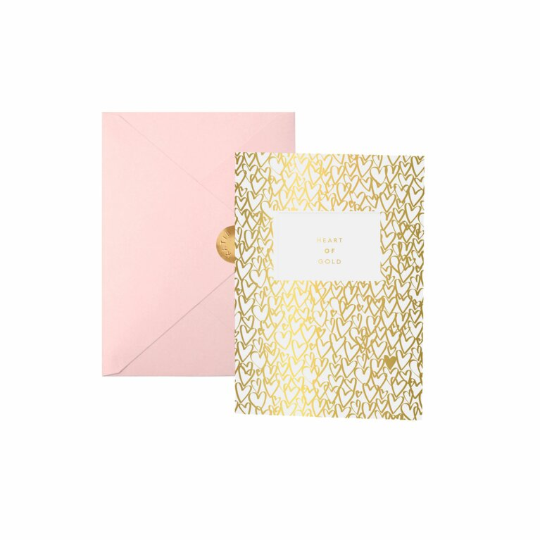 Greeting Card | Heart Of Gold