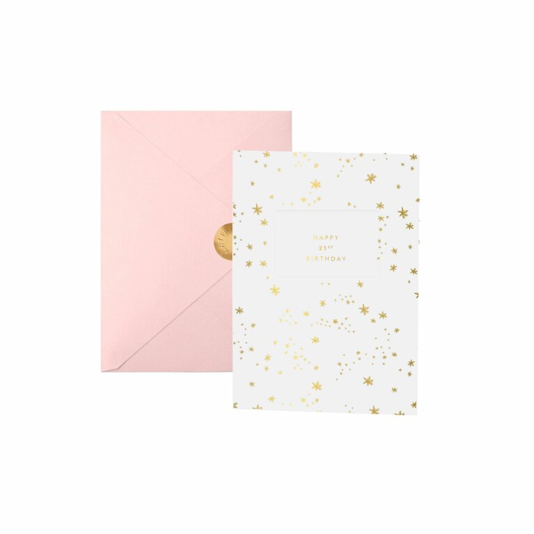 Greeting Card | Happy 21st Birthday
