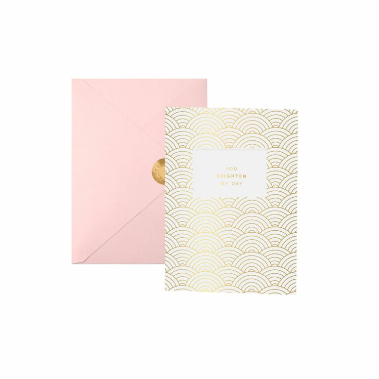 Greeting Card | You Brighten My Day