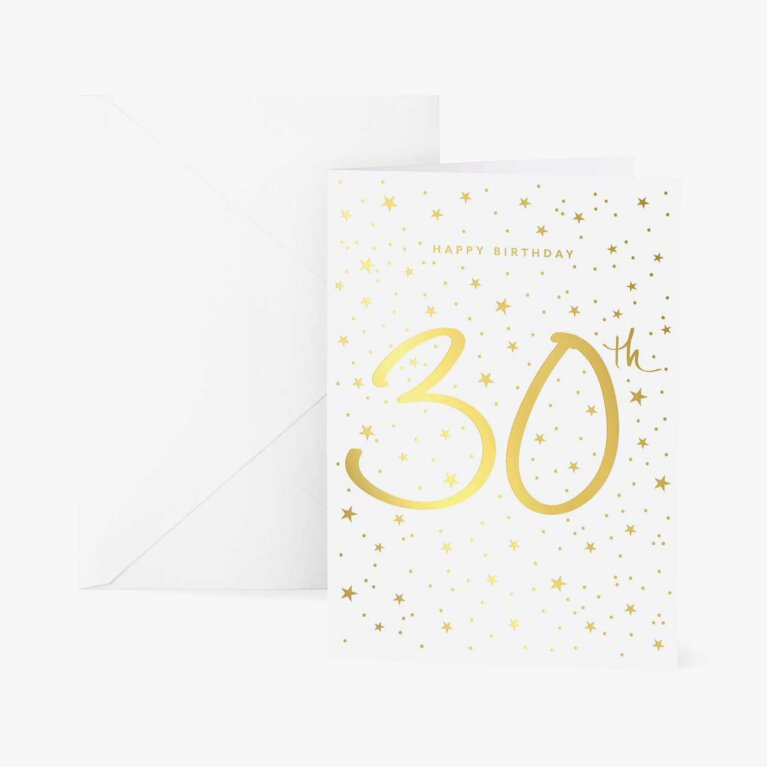 Greetings Card | Happy 30th Birthday