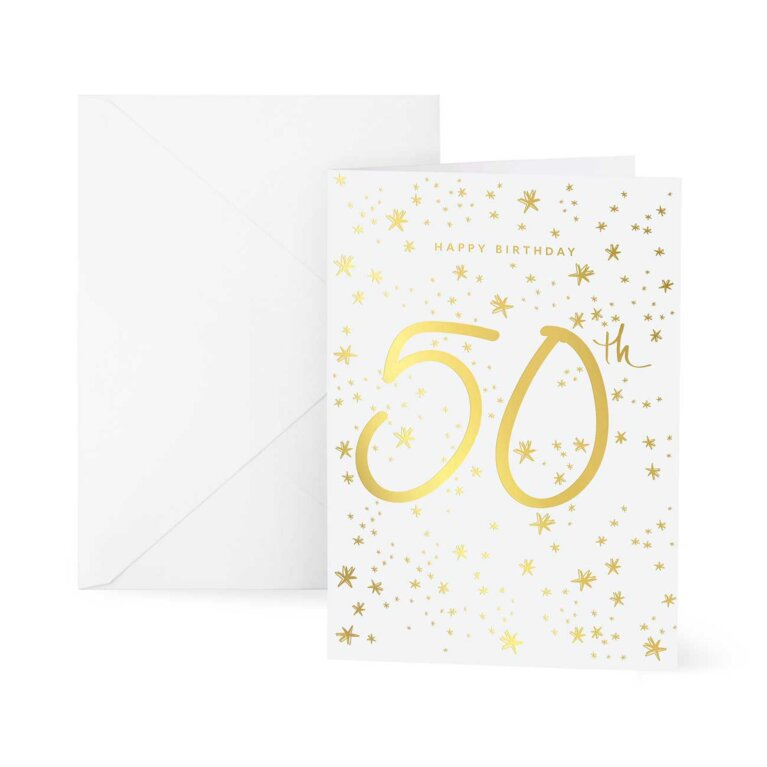 Greetings Card | Happy 50th Birthday