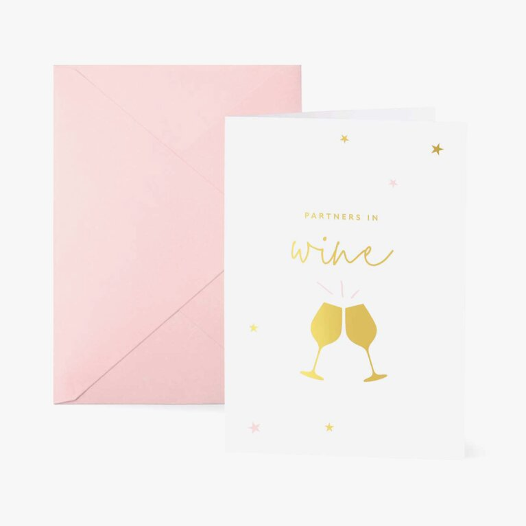 Greetings Card | Partners In Wine