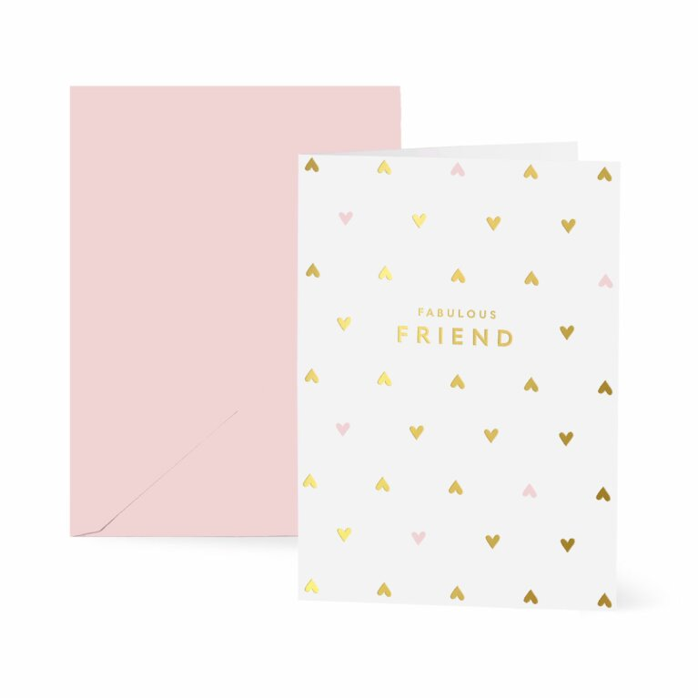 Greetings Card x 6 | Fabulous Friend