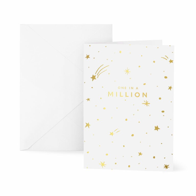 Greetings Card x 6 | One In A Million