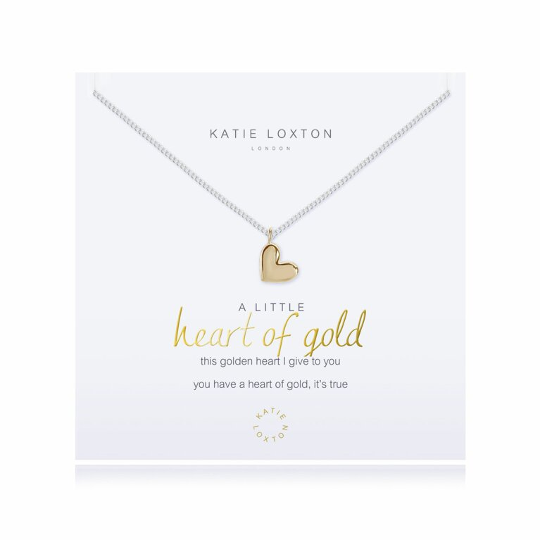 a little Heart Of Gold Necklace