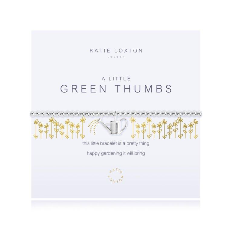 A Little Green Thumbs Bracelet