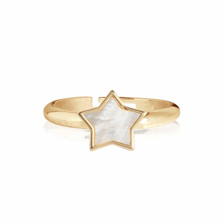 Shona Shell Star Ring