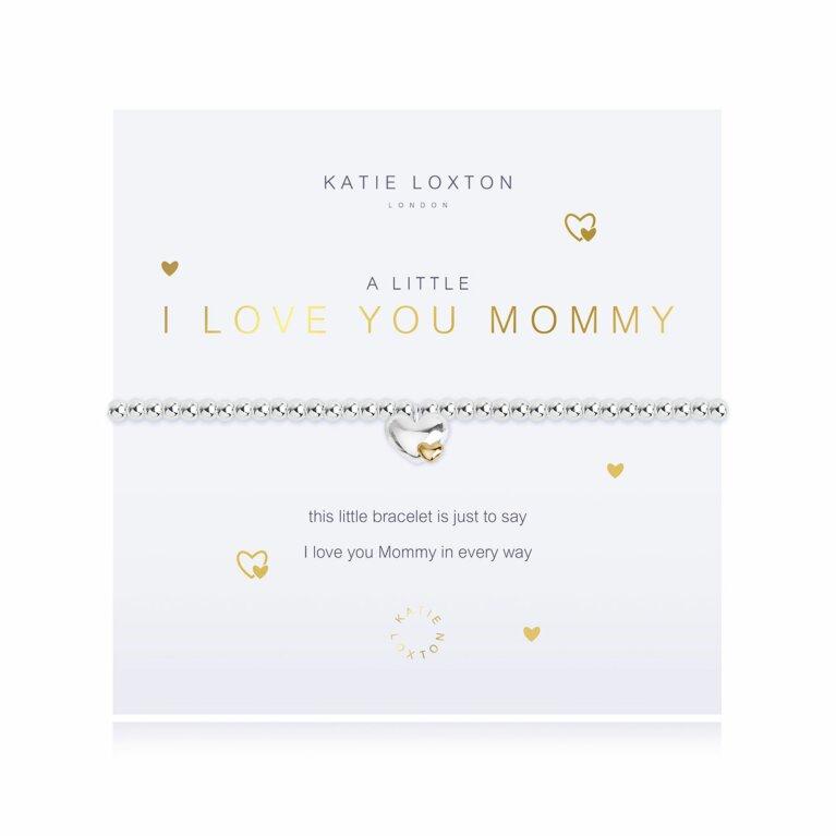 A Little I Love You Mommy Bracelet