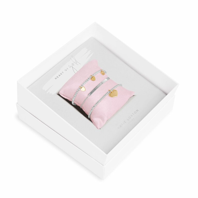 Occasion Gift Box | Heart Of Gold Bracelets